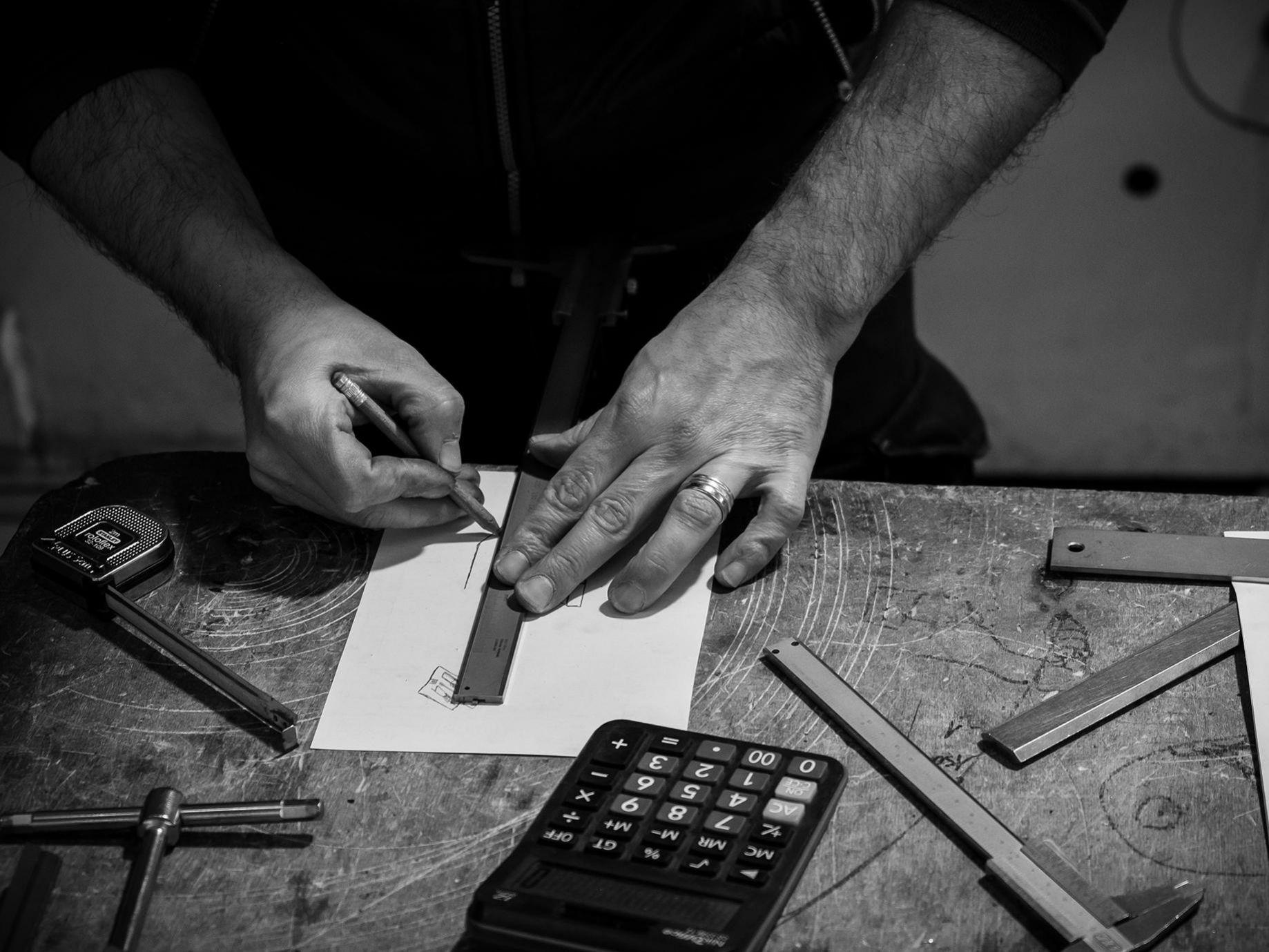 slider 4 Elleci - Lavorazione Tecnica Lamiera
