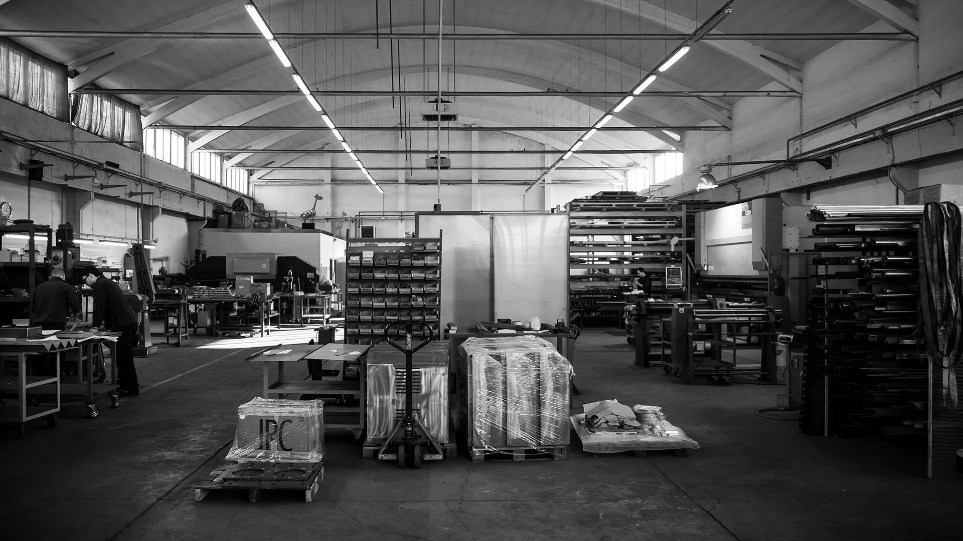 slider 7 Elleci - Lavorazione Tecnica Lamiera