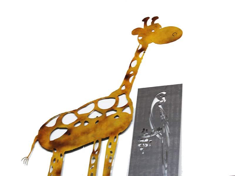 Complementi arredo in lamiera: Giraffa | Elleci