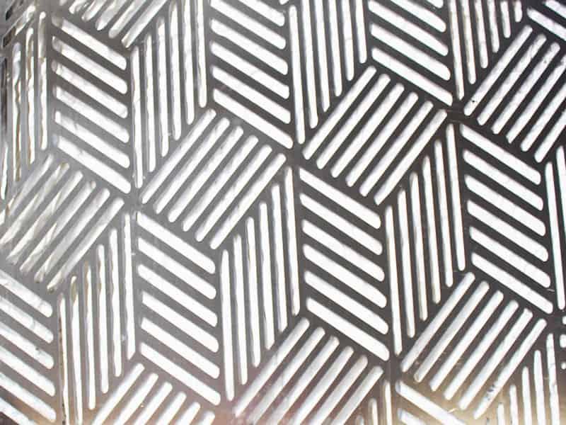 Complementi arredo in lamiera: Trama cubi | Elleci