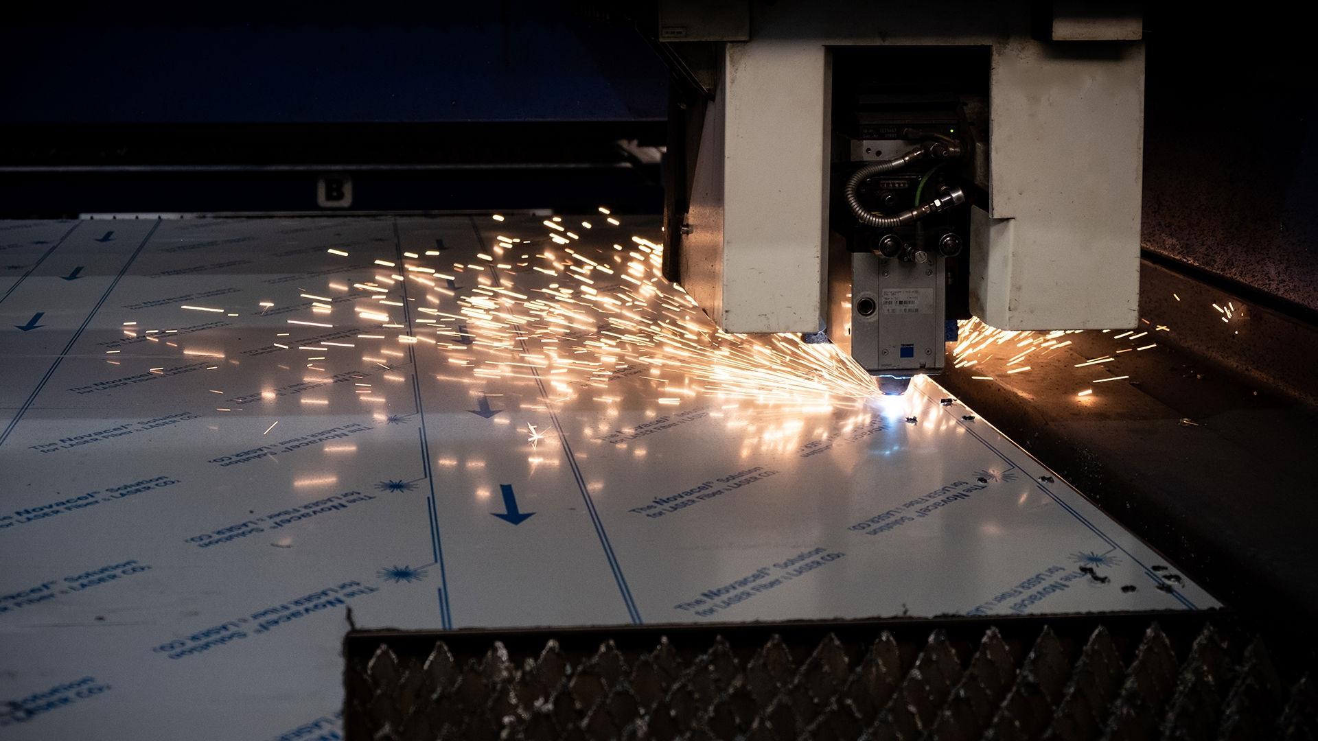 Taglio laser lamiera Bologna   Elleci